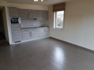 Appartement te huur:<br /> <br /> Indeling: inkomhal, gastentoilet, badkamer, slaapkamer, woonkamer met open keuken, aansluitend het terras.<br /> <br