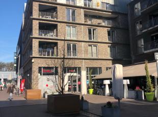 Ruim appartement met 2 slaapkamers en veel lichtinval, gelegen in Genk-Centrum met zicht op het stadsplein.<br /> <br /> Indeling: inkomhal met vestia