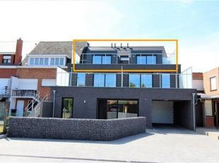 Prachtig NIEUWBOUW appartement van 95m² met 2 slaapkamers op de bovenste verdieping in een gebouw van 2 hoog op wandelafstand van het dorp van Be