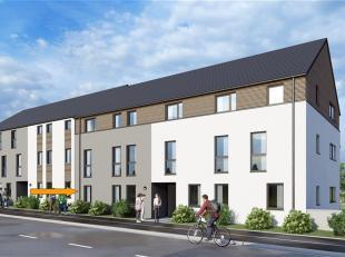 VAUX-SUR-SURE : Appartement 2 ch. d'une surface de 83,28 m² jouissant d'une belle terrasse orientée plein sud de 6,54 m². Il se situe
