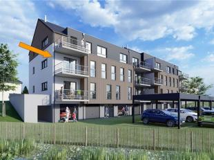 VAUX-SUR-SURE : Appartement 3 ch., 3façades, d'une surface de 97,24 m² et jouissant d'une belle terrasse orientée plein sud de 6,8m