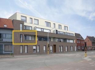 Dit nieuwbouwappartement is voorzien van alle modern comfort. Het appartement bevindt zich te midden van het centrum van Paal op de eerste verdieping