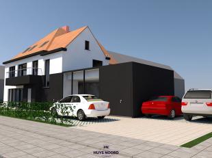 Dit nieuw te bouwen duplex appartement heeft heel wat te bieden.<br /> Op de eerste verdieping vinden we een gezellige zithoek, eetruimte, volledig ge