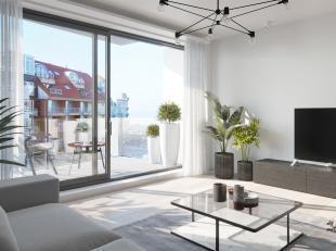 Nieuwbouwproject in het centrum van Nieuwpoort Bad. Een kleinschalig project met slechts 1 appartement per verdiep. Appartementen met 2 slaapkamers, r