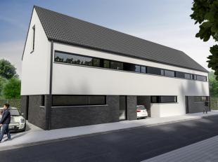 Prachtig nieuwbouwproject van 3 woningen , gelegen in een rustige omgeving en een doodlopende straat . De w<br /> oningen worden casco aangeboden dus