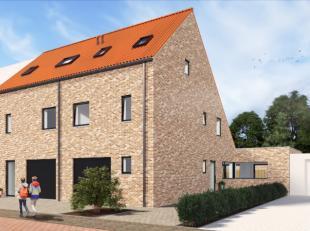 Ontdek deze landelijke, energiezuinige woning (E-peil 45) bestaande uit inkom met gastentoilet, ruime lichtrijke living met open keuken (+-70 m²)