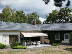 """OPEN DEUR ZA 6 OKT ts 10u en 12u-Uniek gelegen """"Beleef-Villa"""" met binnenzwembad ... in de driehoek """"Bospark-Daknam-Molsbroek"""", met direct uitzicht op"""