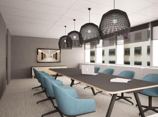RECHTSTREEKS VAN EIGENAAR - Lichtrijke kantoren (378 m²) op de eerste verdieping van een goed gelegen kantoorgebouw in het centrum van Brussel. H