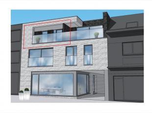 Dit appartement op het 2e verdiep links is als volgt ingedeeld : inkomhal / nachthal, toilet, leefruimte met zit-/ en eethoek, open keuken voorzien va