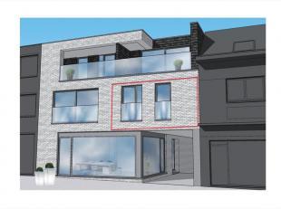 Dit appartement op het 1e verdiep rechts is als volgt ingedeeld : inkomhal / nachthal, toilet, leefruimte met zit-/ en eethoek, open keuken voorzien v