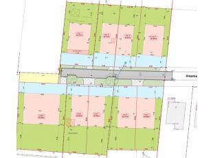 Perceel bouwgrond voor halfopen bebouwing met een oppervlakte van 3a97ca, gelegen in een doodlopende straat. <br /> <br /> Het perceel is goed geleg
