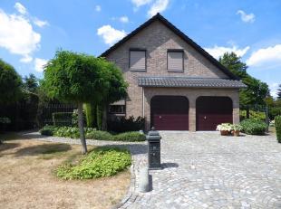 Genkerhei 21 - Degelijke en ruime villa met 3 slaapkamers, bureel, dubbele inpandige garage, aangelegde tuin,… <br /> op zuidwestgericht perceel van