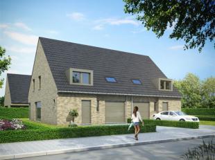 nieuwbouwwoning  met garage en 3 slaapkamers in het centrum van Waardamme. Deze nieuwbouwwoning kan volgens eigen smaak worden afgewerkt. neem zeker c