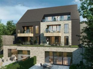 Prachtig nieuwbouwappartement te koop met zonnig terras , parking en kelder .<br /> Het appartement wordt gebouwd op 500 meter van het centrum van Lan