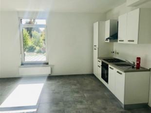 Superbe Appartement neuf comprenant  Un hall d'entrée, buanderie, cuisine équipée avec espace repas, living, grande salle de bain