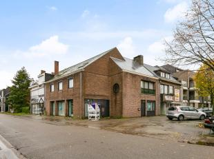 Top locatieIn het centrum van Houthalen-Helchteren op het Sint-Trudoplein, vinden we deze unieke handelsruimte met duplex appartement terug.De ideale