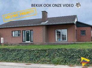 Bekijk zeker ook de film met drone opname en de plannen op www.aabi.be; Deze mooie bungalow heeft vele troeven en kan ook dienst doen als kangoeroewon