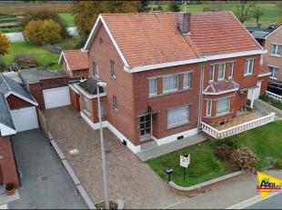 Bekijk ook de filmopname met drone en plannen op www.aabi.be; Extra troeven, nieuwe automatische poort met afstandsbediening, mooie omheinde tuin met
