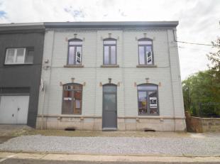 A ne pas manquer, située à Souvret dans l'entité de Courcelles qui est à 5 min, magnifique et spacieuse maison 3 fa&ccedil