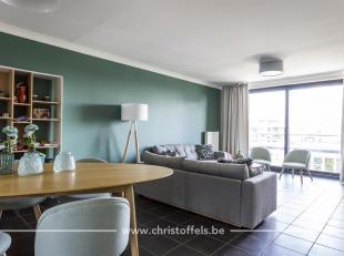 Dit appartement is gelegen op de 3de verdieping van residentie Le Bon Réveil, in het centrum van Lanaken. Het doorzon-appartement werd recent o