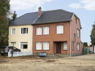 Deze gezinswoning van ca. 143m² is rustig gelegen op een perceel van 1.077m², vlakbij het centrum van Bilzen. De woning telt 3 slaapkamers e