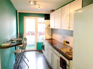 Verzorgd en licht appartement op toplocatie in een goed onderhoud gebouw. Gelegen in centrum Antwerpen, op 2 minuten wandelafstand van de Dageraadplaa
