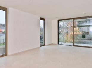 Dit nieuwbouwappartement  vinden we terug pal in het centrum van Lummen. Mede door zijn centrale ligging, de groene inkleding en de verkeersarme omgev