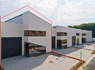 Het bedrijvenpark De Motte bevat 14 KMO-units te Mechelen waarvan dit de LAATSTE unit is. Prijs is € 379 000 excl BTW, oppervlakte is 352 m2. <br /> <