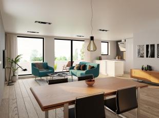 Nieuwbouwproject Den Buiten 2 - Modern en betaalbaar wonen te Mol Ginderbuiten.Elk appartement heeft ook een eigen berging / fietsenstalling.Uitsteken
