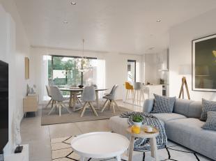 Appartement 87,7m2 op Niv +1<br /> 2 slaapkamers<br /> Terras 13,4 m2<br /> Berging op -2<br /> Garage op -1