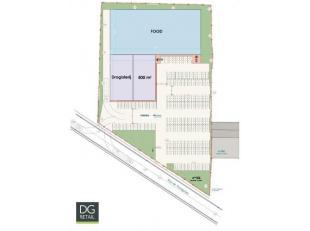 Nieuwbouwunit van 500 m². Courcelles (Henegouwen) telt bijna 30.000 inwoners en ligt op iets meer dan 10 km ten westen van Charleroi.De unit van
