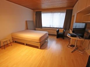 Flat/studio à Heverlee. Rez-de-chaussée (total= +/-27m²): hall d'entrée (3m²), salon/chambre à coucher (18m&sup2
