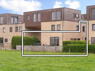 GEEN GEMEENSCHAPPELIJKE KOSTEN ! EIGEN PRIVATE INKOMDEUR !<br /> Appartement (2005) gelegen op de gelijkvloerse en eerste verdieping, op de rand van L