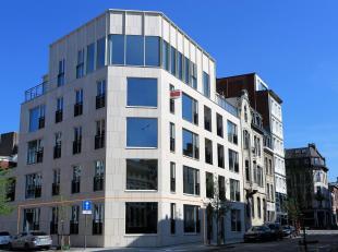 """Dit gelijkvloers kantoor is gelegen in de stijlvolle nieuwbouw residentie """"Leikwartier"""" op een boogscheut van het Hof van Leysen, in de wijk Markgrave"""