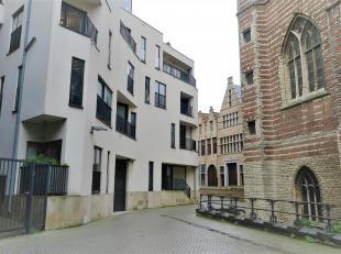 Gezellig appartement (ca 87m²) op de 2e verdieping van Residentie Badhuis. Dit appartement is gelegen in het historische centrum van Antwerpen op