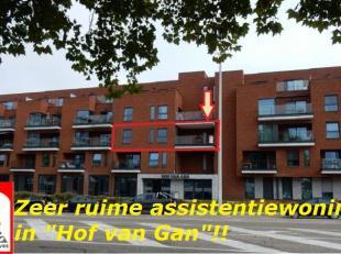 LIGGING /OMGEVING <br /> 'Hof van Gan' is een woon-zorgcentrum gebouwd  in 2016 , centraal gelegen op korte afstand van het stadscentrum, station. Ope