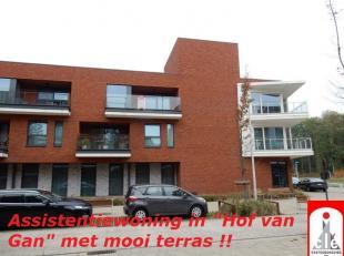 """LIGGING /OMGEVING <br /> ''Hof van Gan"""" is een woon-zorgcentrum gebouwd  in 2014/2016, centraal gelegen op korte afstand van het stadscentrum, station"""