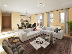 Lumineux appartement de 90m² situé sur les hauteurs de Huy, au rez-de-chaussée d'une résidence bien tenue. Il est compos&eac