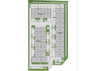 Nieuwe bedrijvenzone gelegen nabij de afrit Tongeren-Oost aan de autosnelweg E313. Ontwikkeling van bedrijvenpark met 29 KMO-units vanaf 140 m² v