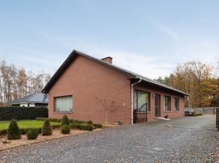 Deze ruime gelijkvloerse gezinswoning is gelegen op een perceel van 9a41ca in een landelijke, rustige omgeving nabij het centrum van Meeuwen.<br /> Vi