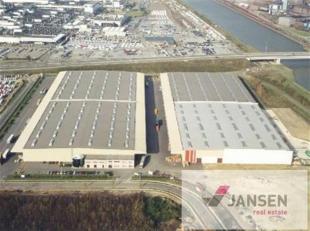 Moderne logistieke opslaghallen gelegen op het industrieterrein Genk-Zuid. Zeer centraal gelegen vlak aan het Albertkanaal en de Henry Fordlaan (N702)