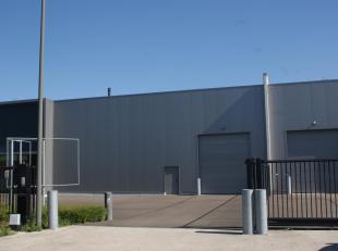 Zeer mooie, recente bedrijfshal gelegen op het industrieterrein Balendijk in Lommel (op enkele kilometers van de Noord-Zuid Verbinding). Dit gebouw be