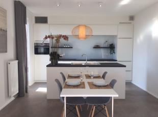 Appartement met één slaapkamer op het eerste verdiep.<br /> Het nieuwbouwproject oHase is gelegen aan de Canadastraat en Handelskaai, na