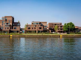 Het nieuwbouwproject oHase is gelegen aan de Canadastraat en Handelskaai, naast het Albertkanaal. Elke woning geniet van uitzicht op het groene park e