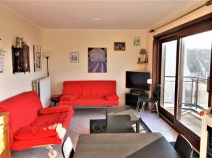 Het appartement is gelegen in een rustige residentie in het centrum van St.-Idesbald op 5 min. wandelen van het strand. Het bevindt zich aan de achter
