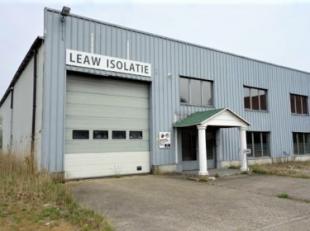 Polyvalent bedrijfspand bestaande uit kantoren en magazijnruimte gelegen op de industriezone Centrum-Zuid te Houthalen.<br /> Het geheel bevindt zich