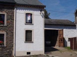 Petite maison avec deux chambres situé dans le village de Ville-du-Bois, une partie de Vielsalm. Cette propriété doit être