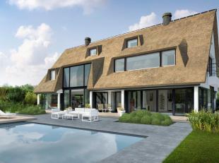 Unieke  villa op een prachtige locatie aan de rand van het Zoute.Deze villa wordt volledig gerenoveerd en opnieuw ingericht.<br /> Het perceel van 134