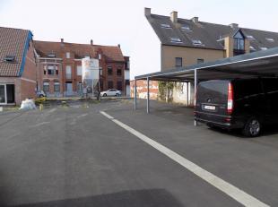 Project grond in de Leiestraat te Kuurne voor 6 appartementen.<br /> De verharding is reeds uitgevoerd, enkele carports zijn reeds geplaatst. In totaa