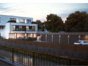 Penthouse in kleinschalig project aan de Grote Bassin te Roeselare.<br /> Deze parel heeft maar liefst 181m² bewoonbare oppervlakte! Twee terrass